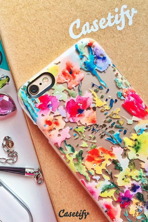 Click through to see more iPhone 6 protective phone case designs by @Pineapple Bay Studio by Susan Magdangal   #floral | @Casetify