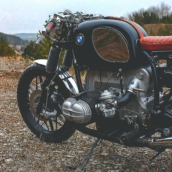 combustible-contraptions:  BMW 800 Cafe Racer | Brat | Tracker | R 80 | Hammer Kraftrad