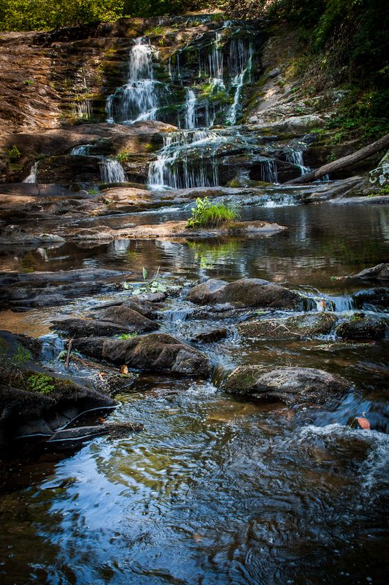 Conasauga Falls Cherokee National Forest WAS AT THIS SPOT ON ONE OF OUR VACATION TRIPS TO THE SMOKEY MOUNTIANS WHEN I WAS A TEEN