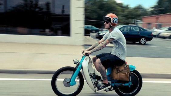 Cool Honda cub!