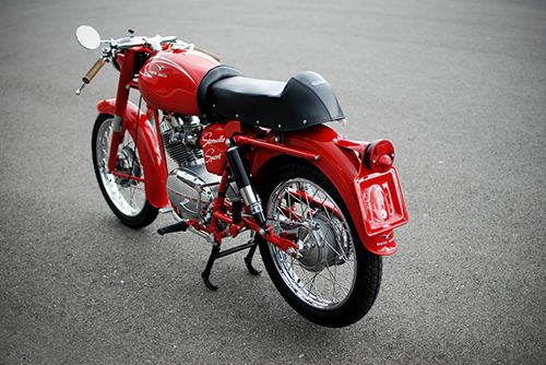 Cool motorcycle.