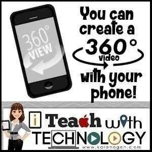 Create 360 videos with your phone!