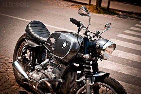 Custom BMW motorcycle
