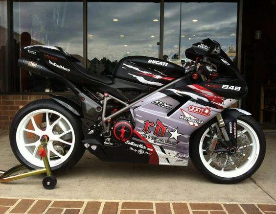 Custom Ducati 848