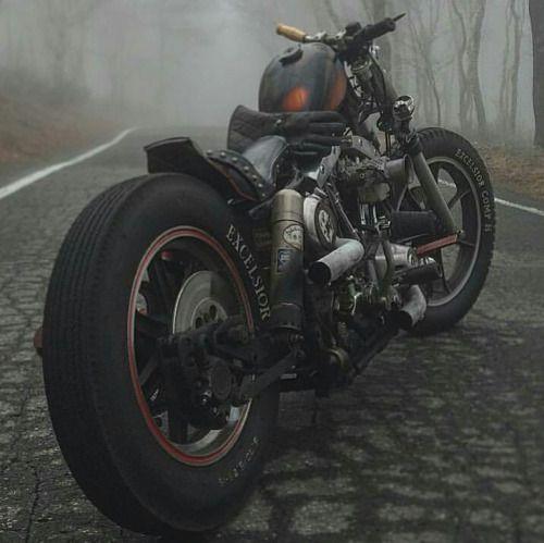 Custom Harley ShovelHead