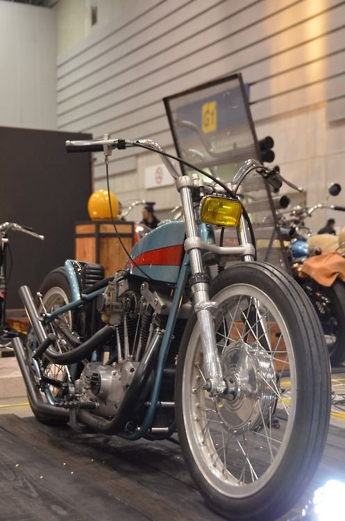 Custom Ironhead | Bobber Inspiration - Bobbers and Custom Motorcycles | theroadyeah August 2014