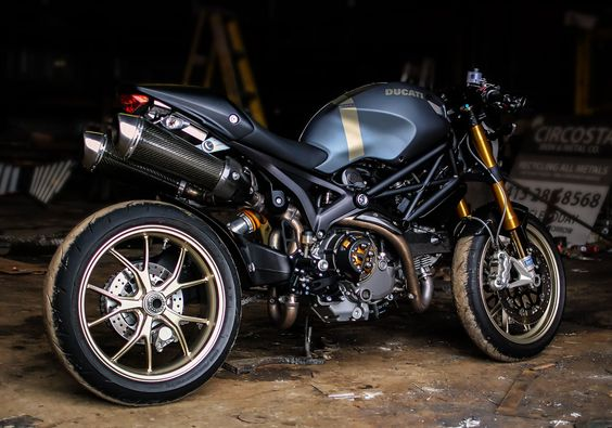 Custom Painted Ducati Monster 1100s