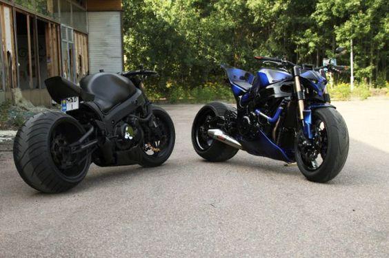 custom street bikes - Google Search