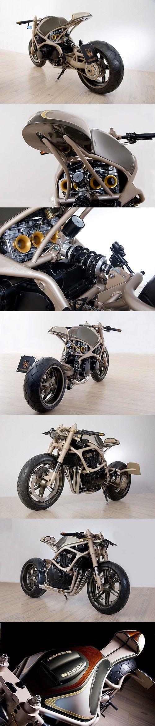 "Custom Wolf - ""Scoop"" Café Racer"