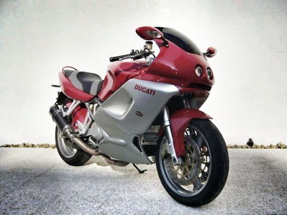 Customized Ducati ST4