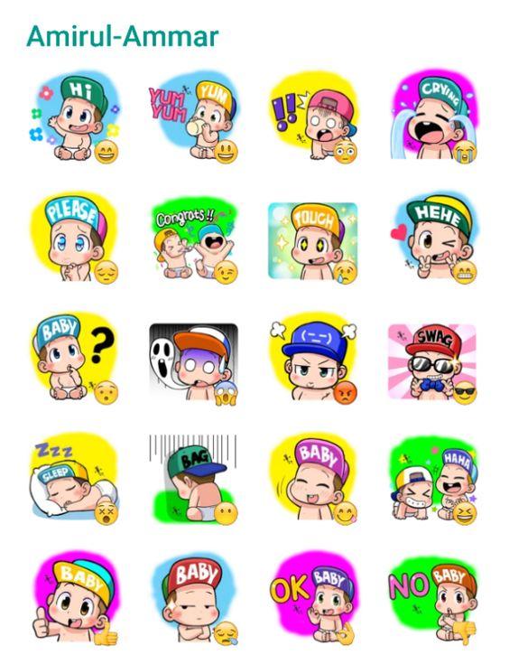 Cute Baby Sticker Pack #Telegram #Stickers