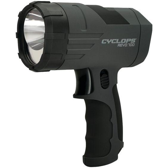 Cyclops 700-lumen Revo Handheld Rechargeable Spotlight