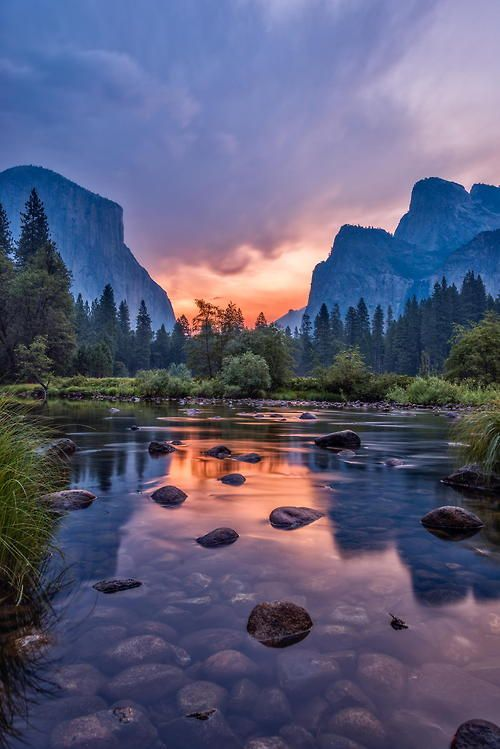 Dawn at Yosemite National Park ~ California,
