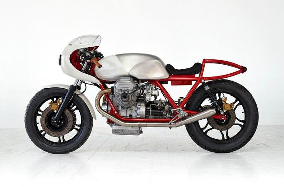Death Machines Of London launch with a killer Moto Guzzi