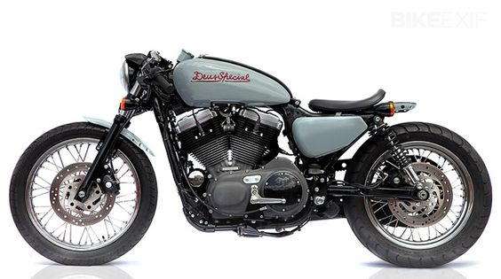 Deus Nightster 1200 V Twin cafe racer custom
