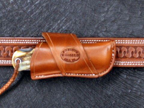 Bullard Leather Mfg. Crossdraw Knife Sheath