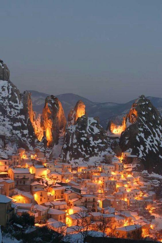 Dolomiti a Castelmezzano, Potenza, Basilicata, Italy