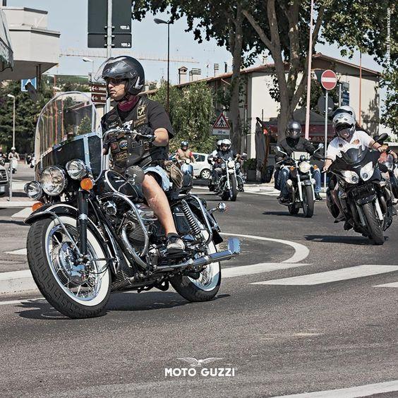 Don't follow: pave the way. Where do you prefer to ride your bike? #motoguzzi