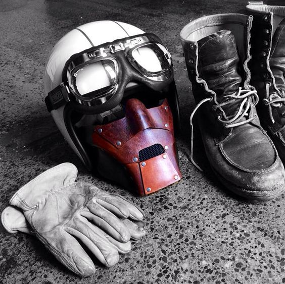 doom leather mask