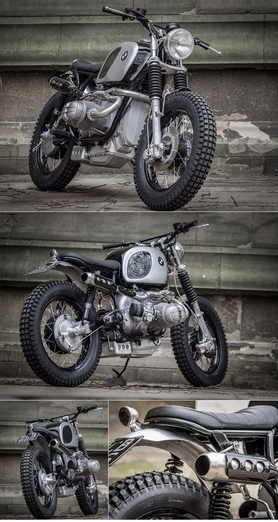 Down Out BMW Scrambler