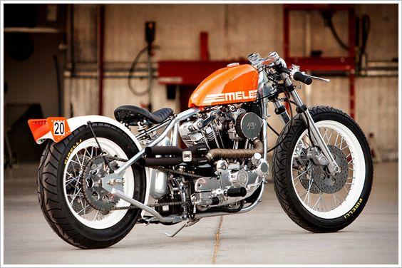 DP Customs - 'Mele' Ironhead - Pipeburn - Purveyors of Classic Motorcycles, Cafe Racers & Custom motorbikes