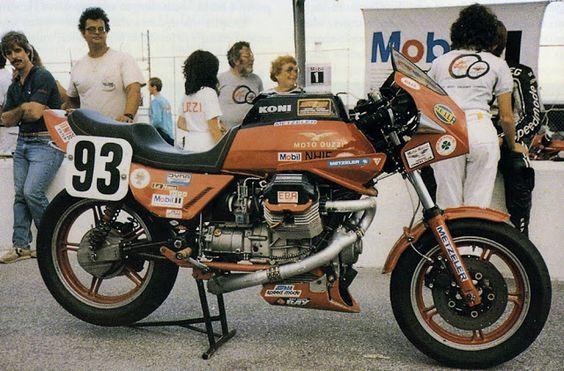 Dr John Wittner Moto Guzzi Le Mans Racer