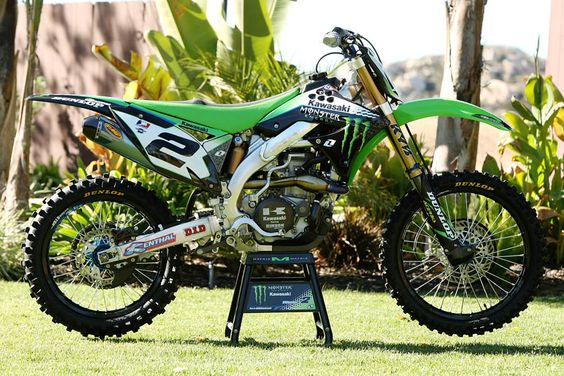 Dream Bike! Villipoto's 2011 champion MX bike
