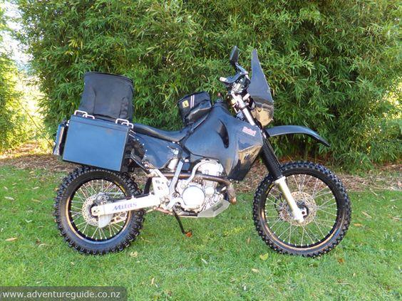 DRZ400 adventure bike build - adv mods