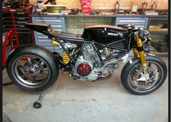Ducati 1123cr Cafe Racer by James Compton Customs #motorcycles #caferacer #motos |