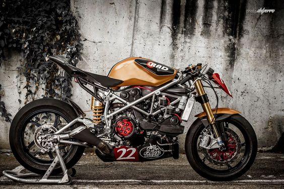 Ducati 1198 SP custom aka Matador Racer by Radical Ducati Spain