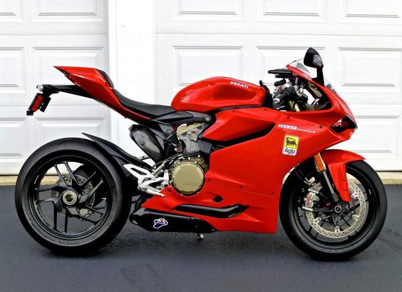 Ducati 1199  I will stop with this bike :)