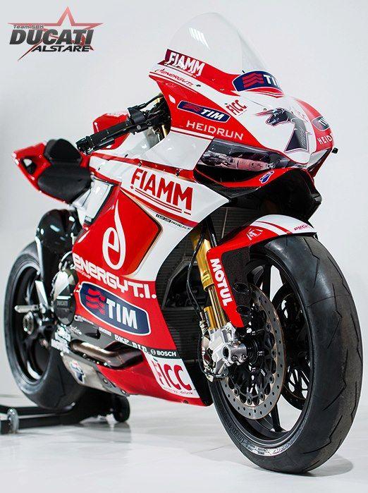 Ducati 1199 Panigale WSBK Team Alstare 2013
