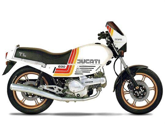 Ducati 600 TL Pantah (1985)
