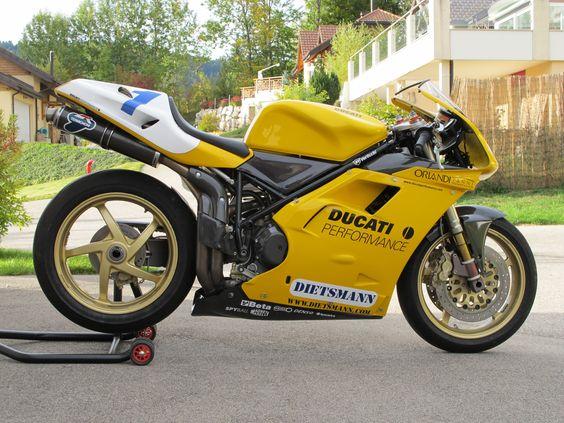 Ducati 748 Racing - 1996 Supersport European championship