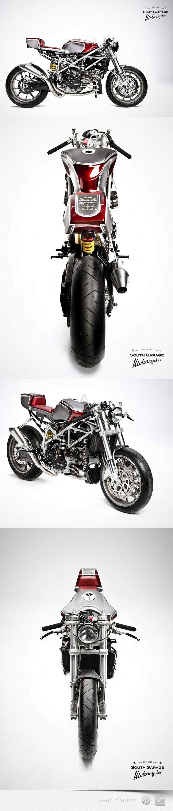 Ducati 749 Cafè Racer by South Garage