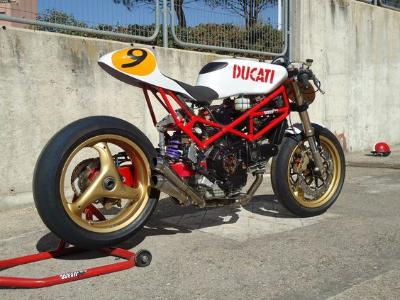 #ducati 9 one half #cafe racer