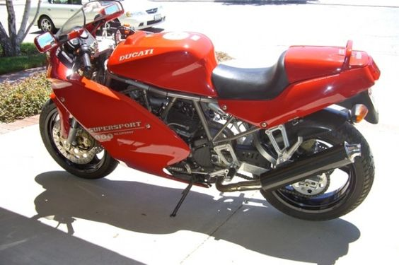 Ducati 900ss - used to have one of these