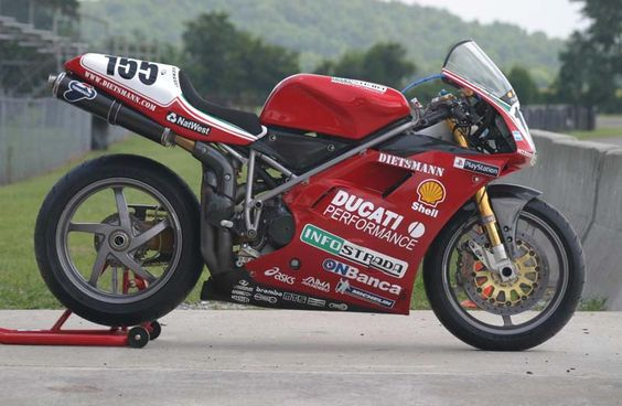 Ducati 996 RS - Ben Bostrom