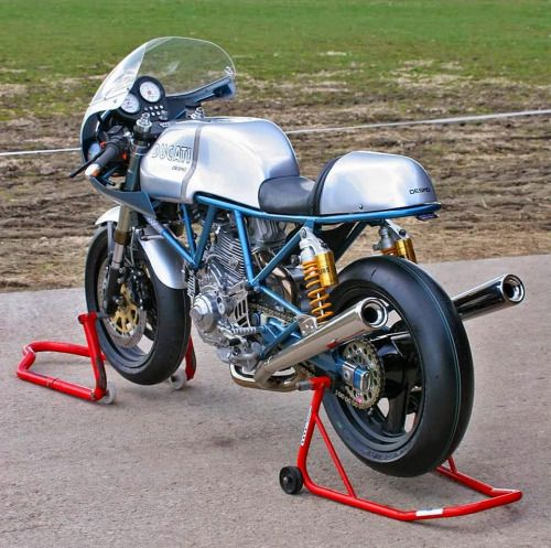Ducati Cafe Racer Paul Smart #motorcycles #caferacer #motos |