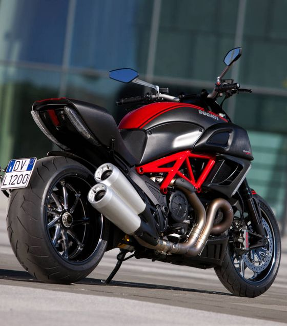 Ducati Diavel, my son wants one, hes only 5 lol