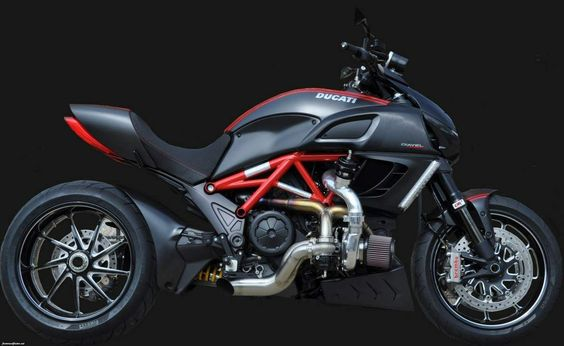 Ducati Diavel Turbo by Commonwealth Motorcycles