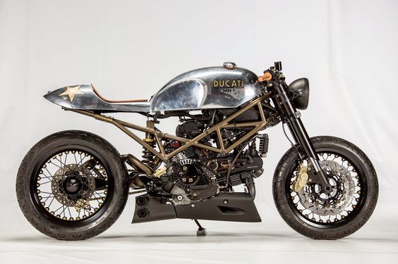 Ducati Monster 1000 Cafe Racer MB1 by Motobene #caferacer #motorcycles #motos |
