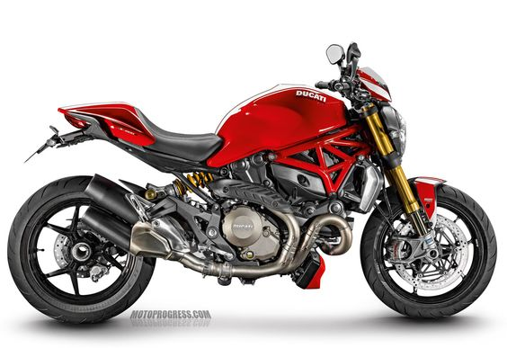 DUCATI Monster 1200 S Stripe 2015