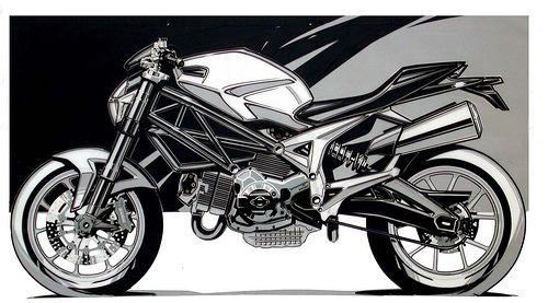 Ducati, Monster 696 by shtrlz, via Flickr