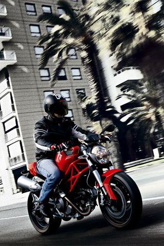 Ducati Monster 696 - Wallpaper for iPhone