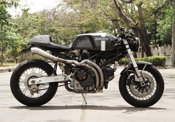 Ducati Monster Cafe Racer from Thailand by Nattapat Janyapanich #motorcycles #caferacer #motos |