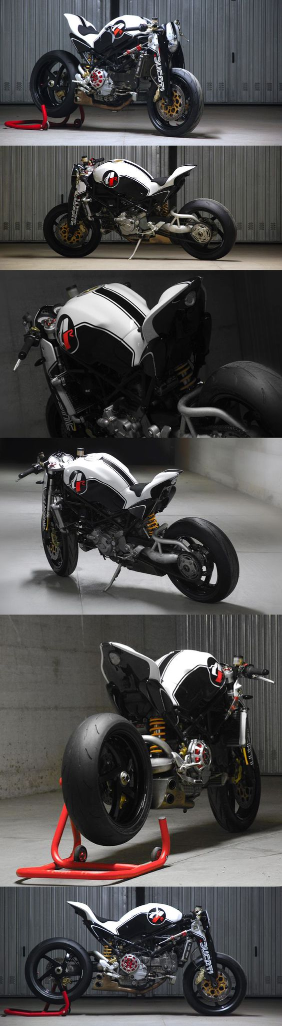 #Ducati Monster MS4R by Paolo Tesio