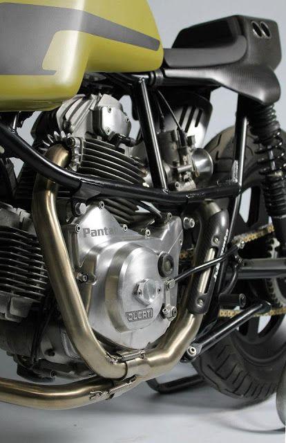 Ducati Pantah Cafe Racer by JvB Moto