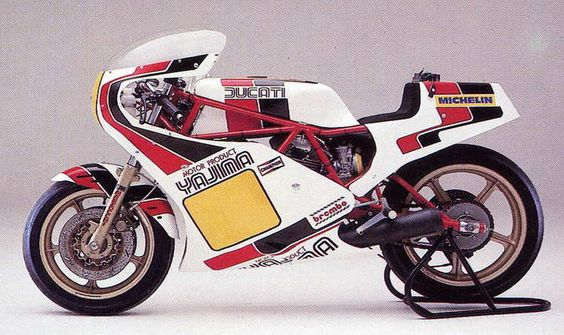 Ducati Pantah racer by Yajima