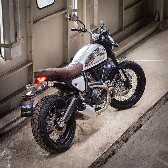 Ducati Scrambler Legend 62 Bianco